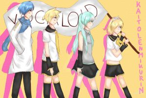Vocaloid by serpchi