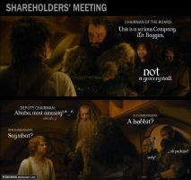 TGD #19: Shareholders' meeting by PeckishOwl