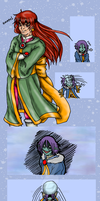 SS2009: Snowball Fight by elfgrove
