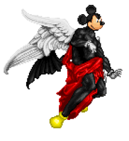 Kefka Mickey Whos crazyer by Mongoosquilax