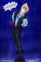 Frozen Lake -Kristoff version1- by Prince-Asad-GID
