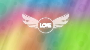 Wallpaper Love Colors by RoohEditions