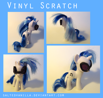 Vinyl Scratch Custom by SaltedVanilla