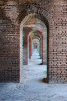 Fort Jefferson Archways 3-D conversion by MVRamsey