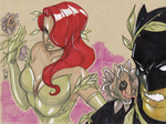 Poison Ivy and Friends by Hodges-Art