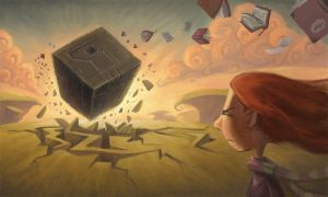 Attack of the Cube by Bakenius