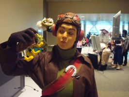 Otakon 2009 Go Manbrows by Icequeenkitty