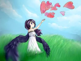 I'll let my Love fly for me. by Tonttun