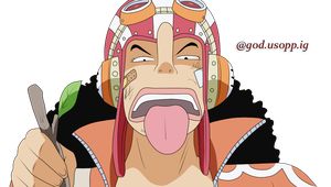 Who The Hell Are You?~ Coloured [Usopp] by usopp-fangirl