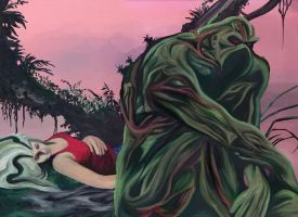 Swamp Thing by frostdusk