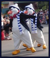 MGM Christmas Parade  Penguins by WDWParksGal