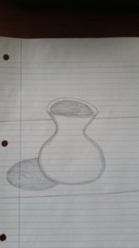 Drawing of a Another Vase by PIZZAPIE97
