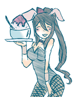 Bunny Tsu-chan by The-fandom-alchemist