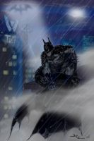 Batman on the prowl by Daequitas