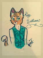 King william art trade by Agavny