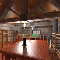 Log Cabin: Blender 3D by xXPteranoXx