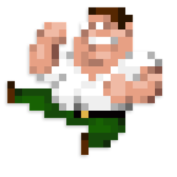 Day #37 - Peter Griffin by JINNdev