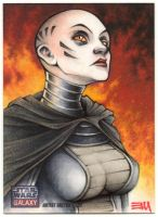 Asajj Ventress - Galaxy 7 Artist Proof by Erik-Maell