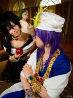 Magi Shoot: Watch your back Judal! by SNTP