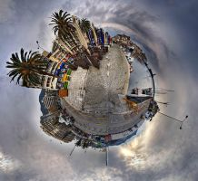 Panorama of Kavala by Chris-Lamprianidis