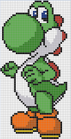 Yoshi cross stitch pattern by Santian69