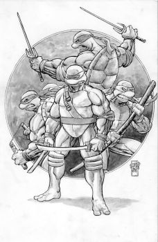 TMNT Commission by ToneRodriguez