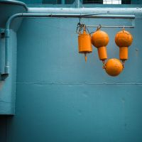 Orange... well... thing by Pierre-Lagarde