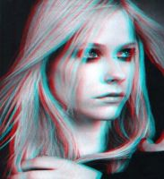 3D Effect Avril lavigne by Pathsh