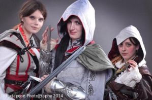 Assassin's Creed Sisterhood by NocturnalNaomi