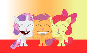 HTF- The Cutie Mark Crusaders by Elica1994