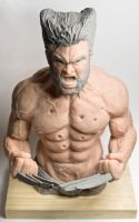 Wolverine Sculpture 2 by Danwhitedesigns