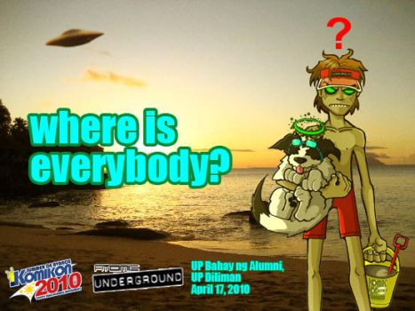 Where is everybody? by atomic-underground