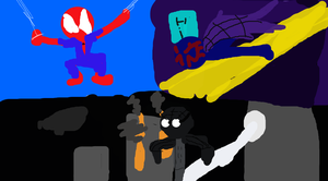 Spiders of Future's Pasts by TheUltimateSpiderFan