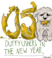 Duffy Ushers in the New Year by Ashworthy
