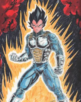 Vegeta by coyote117