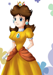 Daisy Lineart by: kimeria87 by Hero-of-Awesome