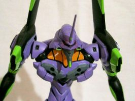 Hand Painted Eva Unit 01 by TribalBunny13