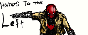 haters to the left Red Hood by C2ii