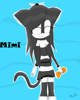 :AT: Mimi the Bombay cat by Catothecat