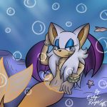Rouge the Merbat by supersonic210