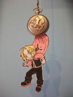Edward Elric paperchild by Silwy-whisky