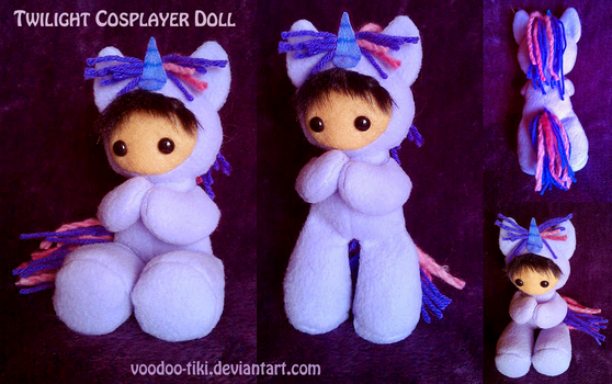 Twilight Sparkle cosplayer doll by Voodoo-Tiki