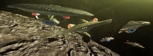 50 let Star Treku by thefirstfleet