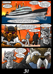 The Cats 9 Lives 6 - The Island of Dr. Morrow Pg31 by GearGades