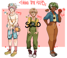 Spring Adopts [AUCTION CLOSED!] by Dottea
