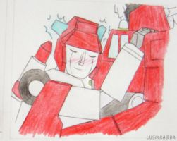 TF prom Inferno and Red Alert by Lusikka