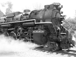 765 Black and White by Mid-MichiganRR24GP9