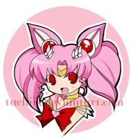 Sailor ChibiMoon Button by tachiik