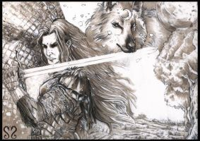 The BlackWolf by TheSellsword