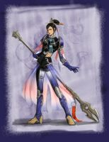 Zhang He_Dynasty Warriors 6 by DW3Girl